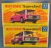 Matchbox Freeman Inter-City Commuter (1970) - Superfast 22E - Box Types